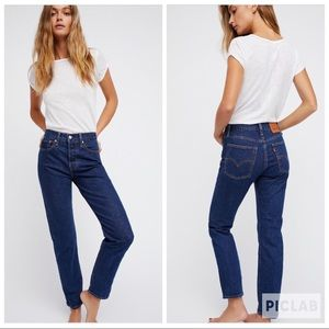Levi's Wedgie Icon Fit High Waisted Skinny Jeans